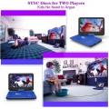 "DR. J 12.5"" Portable Car headrest Video Player"